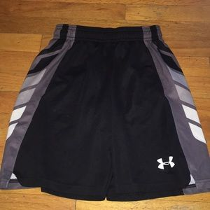 Boys Under Armour basketball shorts